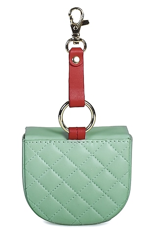 Mini Green Genuine Leather Mini Bag by Immri