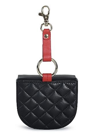Black Genuine Leather Mini Bag by Immri