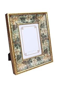 Aqua Wood Photo Frame by Karo