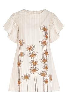 Kora Mini Embroidered Dress by Irabira