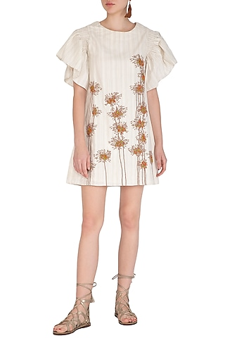 Kora Mini Embroidered Dress by Irabira