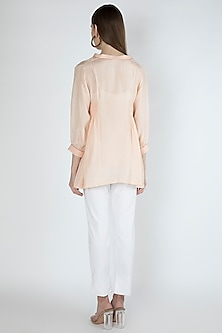 Blush Pink Blouse With Slip by Irabira Urban