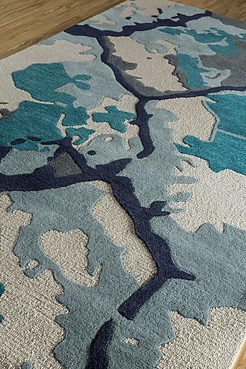 Oriental Rug In Blue by Jaipur Rugs