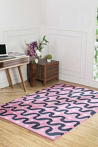 Medieval Blue Contemporary Rug by Jaipur Rugs