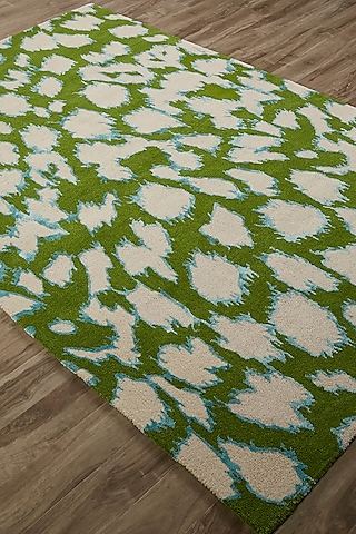 White Contemporary Rug by Jaipur Rugs