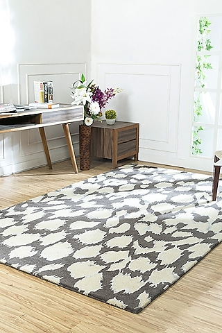 Winter White Contemporary Rug by Jaipur Rugs