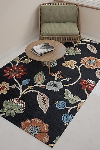 Ebony Wool & Viscose Rug by Jaipur Rugs