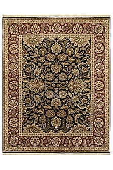 Ebony Red 100% Wool Atlantis Rug by Jaipur Rugs