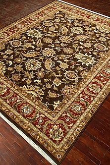 Tabacco Atlantis Hand-Knotted 100% Wool Rug by Jaipur Rugs