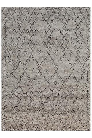 Ivory 100% Wool Morrocan Rug by Jaipur Rugs