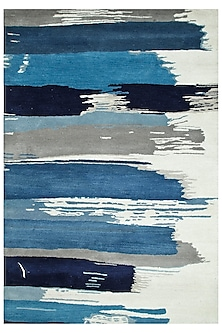 Ivory 100% Wool Abstract Rug by Jaipur Rugs