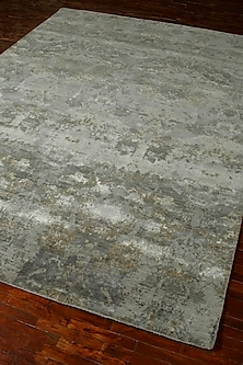 Grey & Black Hand-Knotted Rug by Jaipur Rugs