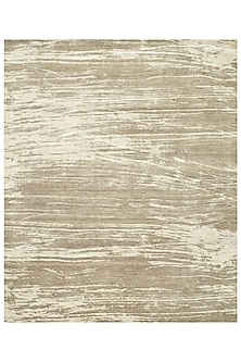 Classic Grey Wool & Silk Dark Toupe Rug by Jaipur Rugs