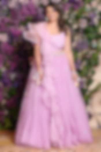 Lavender Tutu Skirt Set by Julie By Julie Shah