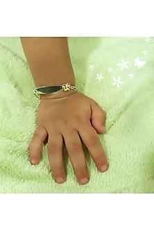 White Finish Butterfly Bracelet Rakhi by JewelitbySZ
