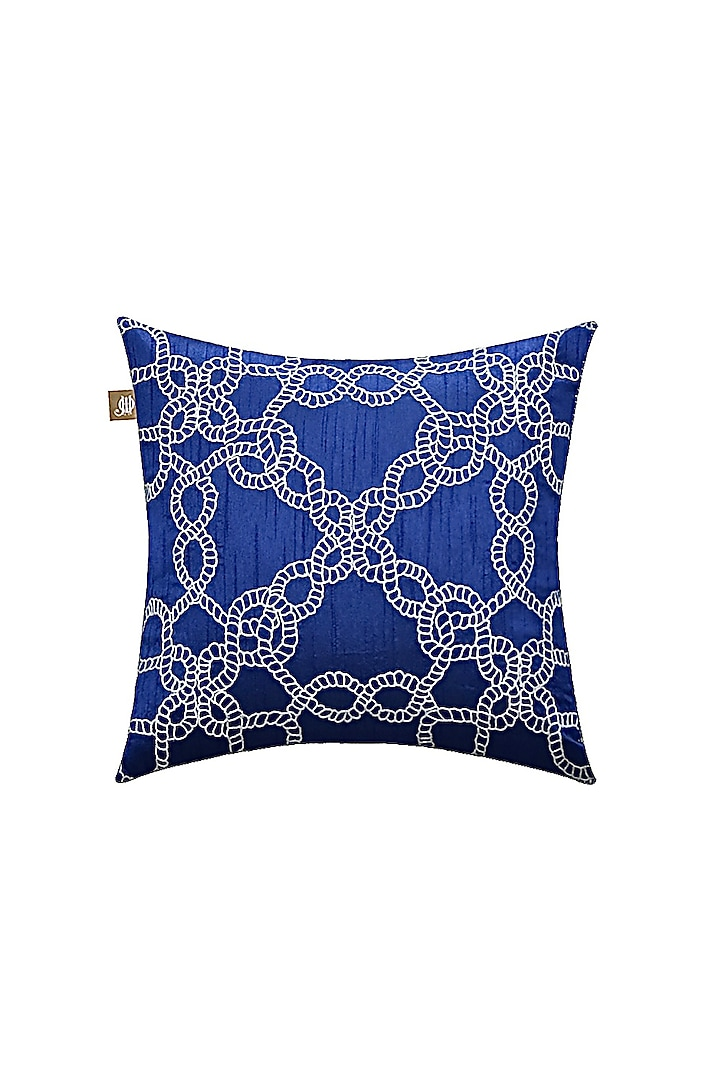 Midnight Blue Decorative Cushion Cover by Jazz My Home