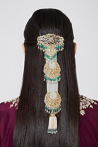 Gold Plated Hair Jewellery by Kiara