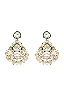 Gold Plated Vellore Dangler Earrings by Kari