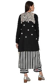Black Corozzo Embroidered Jacket by Ka-Sha