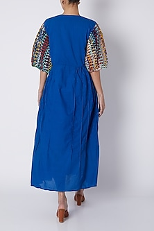 Cobalt Blue Maxi Dress by Ka-Sha
