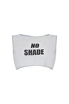 Powder Blue No Shade Sheer Vest by Kanika Goyal