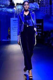 Electric Blue Top by Kanika Goyal