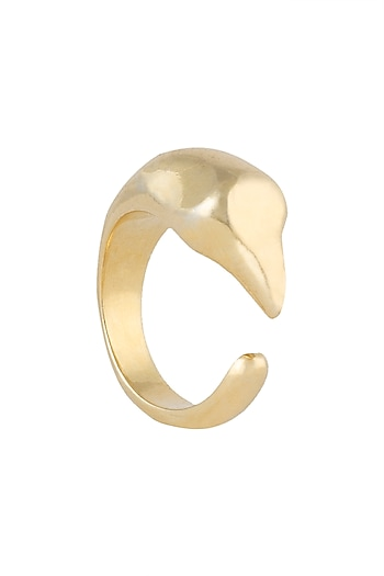 Gold plated eagle ring by Kichu