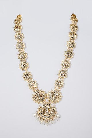 Gold Plated Long Necklace by Just Shraddha