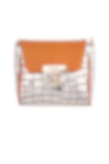 Silver & Yellow Mini Crossbody Bag by KNGN