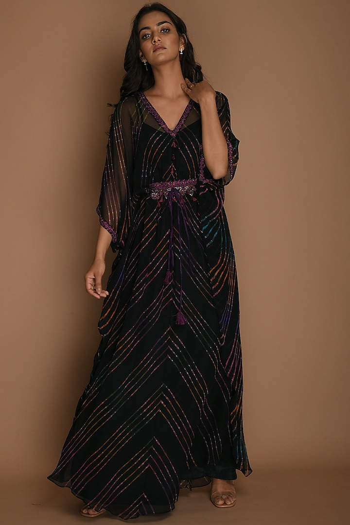 Multi Colored Tunic With Inner by K-ANSHIKA Jaipur
