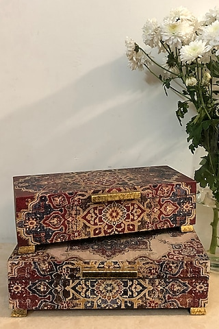 Ivory Handcrafted Abeer Box by Karo