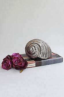Silver Totem Snail & Shell Showpiece by Karo
