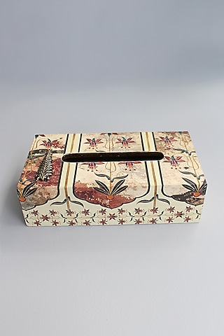 Multi Colored Tissue Box by Karo