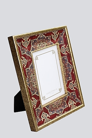 Maroon Wooden Photo Frame by Karo