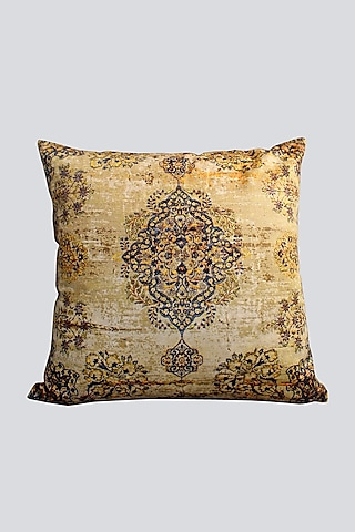Rust Yellow Cushion Cover by Karo