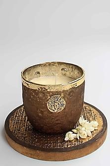 Brown Zunaira Luxury T-light Votive by Karo