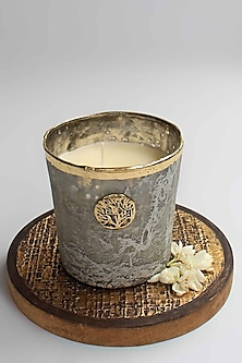 Grey Zunaira Luxury T-light Votive by Karo