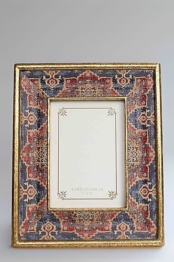 Multicolored Harbour Blue Photo Frame by Karo