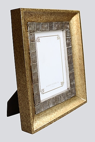 Gold Double Textured Photo Frame by Karo