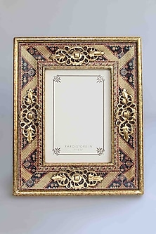 Gold Amrapali Photo Frame by Karo