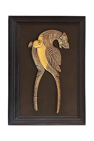Golden Nut Cutter In Brass by Karo