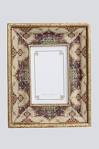 Ivory Wooden Photo Frame by Karo