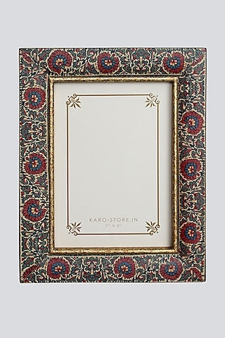 Multi Colored Wood Photo Frame by Karo