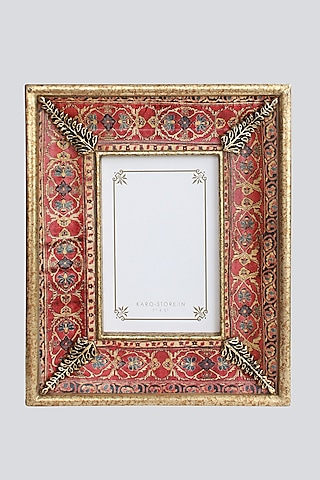 Multi Colored Wood & Resin Photo Frame by Karo