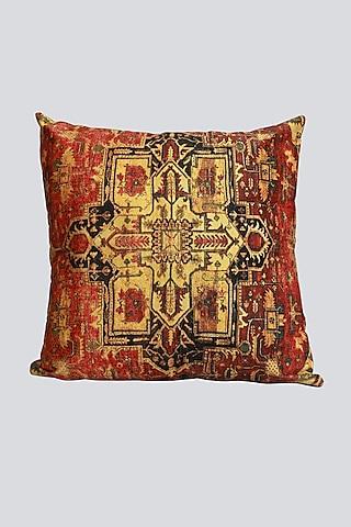 Multi Colored Velvet Cushion Cover by Karo