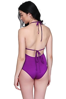 Purple One Piece Swimsuit by SALT SKIN