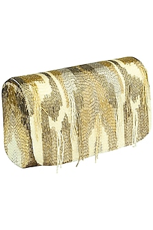 Gold Amber SQB Clutch by Lovetobag