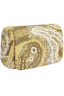 Gold Gemstone SQB Clutch by Lovetobag