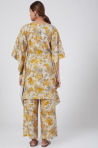 Hazel Digital Printed Pants by Linen Bloom