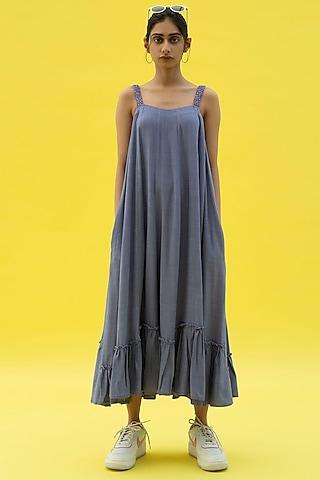 Tradewind Blue Maxi Dress by Label Meesa